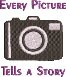 Every Picture Tells A Story embroidery design