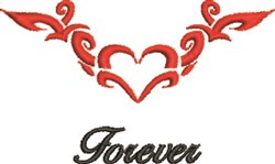 Forever Tattoo embroidery design