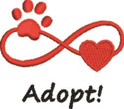 Adopt! embroidery design