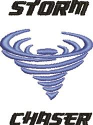 Tornado embroidery design