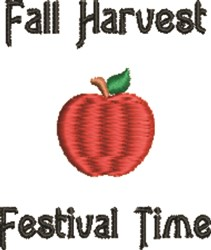 Festival Time embroidery design