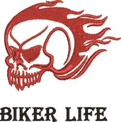 Biker Life embroidery design
