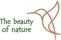 Beauty Of Nature embroidery design
