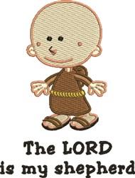 Monk Priest Boy embroidery design