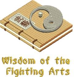 Wisdom Fighting Arts embroidery design