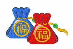 Chinese Bags embroidery design