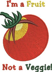 Im A Fruit embroidery design