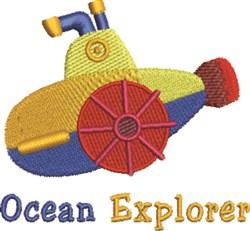 Ocean Explorer embroidery design