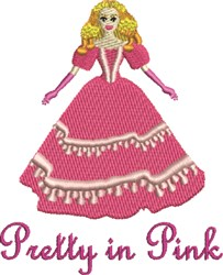 Pretty In Pink embroidery design