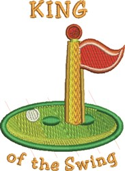 King Of Swing embroidery design