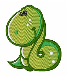 Baby Snake embroidery design
