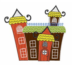 Building embroidery design