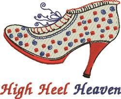 High Heel Heaven embroidery design