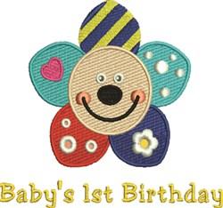 1st Birthday embroidery design