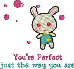 Youre Perfect embroidery design