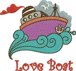 Love Boat embroidery design