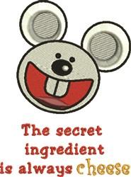 Secret Ingredient embroidery design