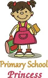 Primary School embroidery design