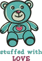 Stuffed With Love embroidery design