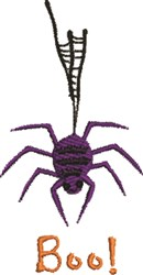 Spider Boo embroidery design