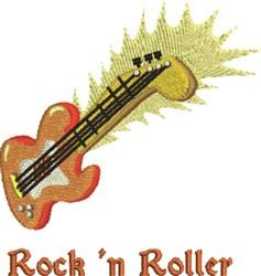 Rock N Roller embroidery design