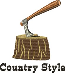 Country Style embroidery design