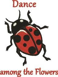 Ladybug Dance embroidery design