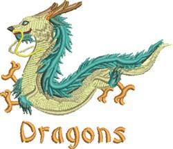 Dragon Asia embroidery design