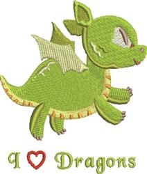Dragon Heart embroidery design