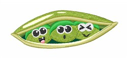 Pea Pod embroidery design