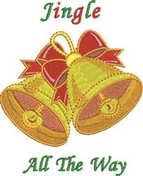 Jingle Way embroidery design