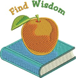 Find Wisdom embroidery design