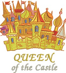 Queen Of Castle embroidery design