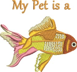 My Pet embroidery design