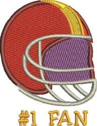 Football Fan embroidery design