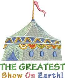 Greatest Show embroidery design