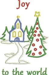 Joy Church embroidery design