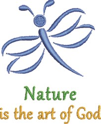 Art Of God embroidery design