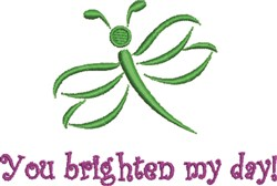 Brighten My Day embroidery design
