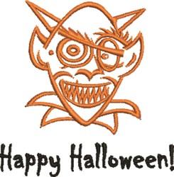 Goblin Halloween embroidery design