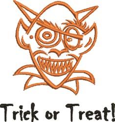 Goblin Trick embroidery design