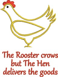 Rooset Crows embroidery design