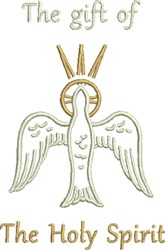 Holy Spirit Gift embroidery design