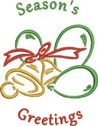 Seasons Bells embroidery design