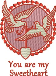 My Sweetheart embroidery design
