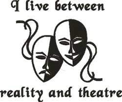 Reality And Theatre embroidery design