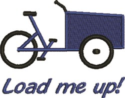 Load Me Up embroidery design