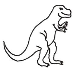 Dinosaur 1 embroidery design