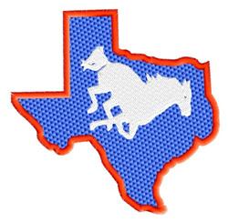 Texas embroidery design