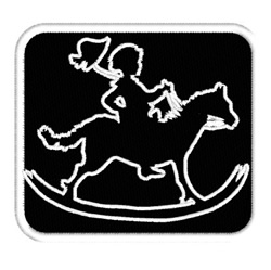 Rocking Horse embroidery design